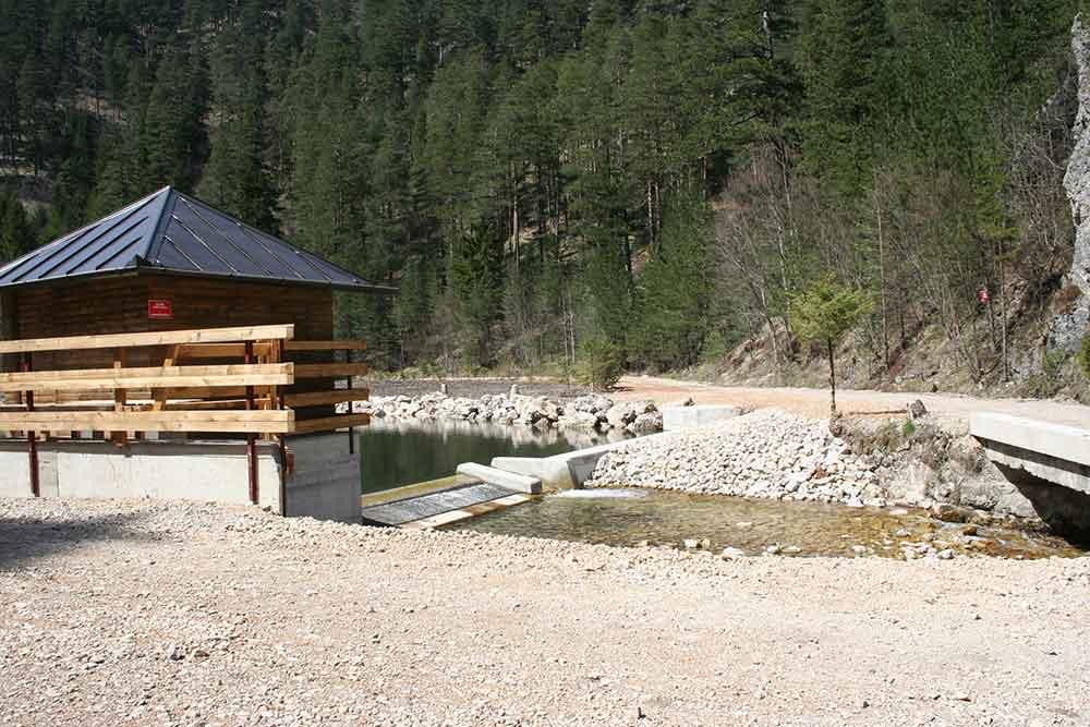 Mujada Intake Upstream View