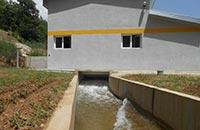 Kleinwasserkraftwerk Brajčino