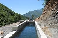 Kleinwasserkraftwerk Galičnik