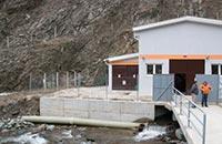 Mała elektrownia wodna Gradečka