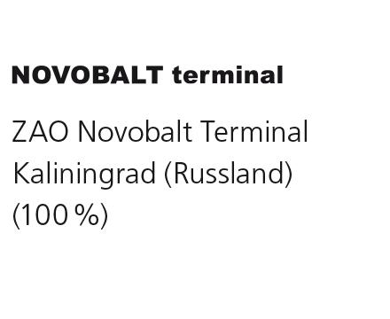 ZAO Novobalt Terminal