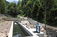 Kleinwasserkraftwerk Patiska