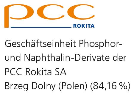 PCC Rokita SA Geschäftseinheit Phosphor- und Naphthalin-Derivate