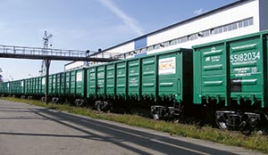 Eisenbahntransporte