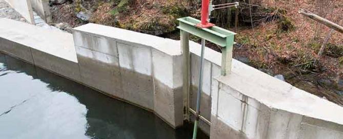 Kleinwasserkraftwerk Brajcino