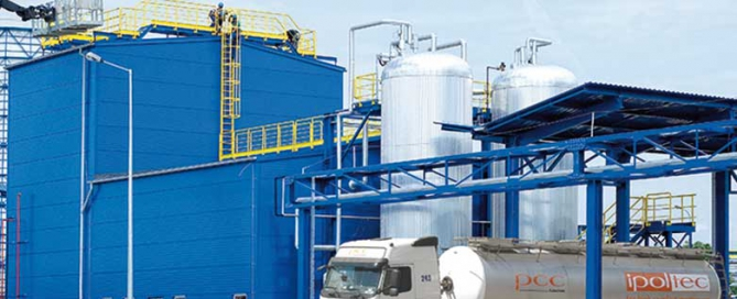 Produktionsanlage Spezialpolyol iPol