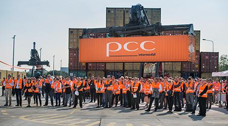 Eröffnung PCC Terminal Brzeg-Dolny