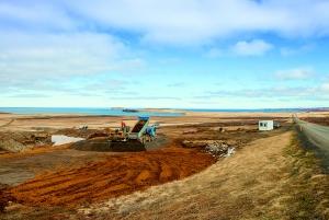 PCC BakkiSilicon - Im Frühjahr 2015 beginnt die Erschließung des neuen Industriegebiets Bakki bei Húsavík, dabei erfolgt auch der Aufbau der Infrastruktur für unsere Siliziummetall-Anlage.