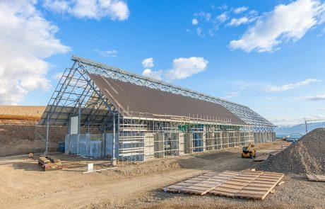 Baustellenansicht im Juli 2016