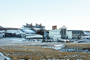 PCC BakkiSilicon - Widok placu budowy w listopadzie 2017 roku