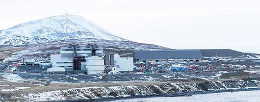 PCC BakkiSilicon - Panorama placu budowy w styczniu 2018 roku