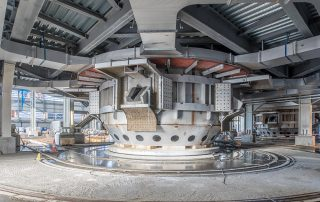 PCC-BakkiSilicon-View-of-the-second-furnance-in-Oktober-2017
