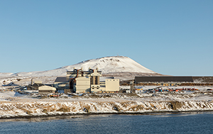 PCC BakkiSilicon - Panoramic view of the silicon metal plant.