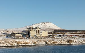 PCC BakkiSilicon - Panoramaansicht der Siliziummetall-Produktionsanlage.