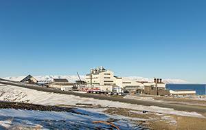 PCC BakkiSilicon - View of the silicon metal plant..