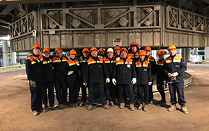 PCC BakkiSilicon - On April 30, PCC Bakki Silicon hf commenced the commissioning phase with the ignition of the first of the two electric arc furnaces. This means that in the first step the electric arc between the electrodes of the furnace was established. In the next step, the temperature was gradually increased and the furnace loaded with a mixture of quartzite, low-ash coal, wood chips, and limestone.