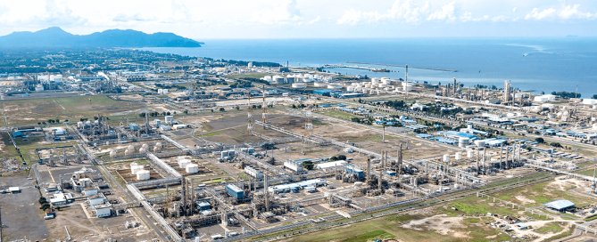 Integrated Petrochemical Complex of PETRONAS Chemicals Group Berhad. There we jointly plan the construction of a new production plant. (Source: Shutterstock)