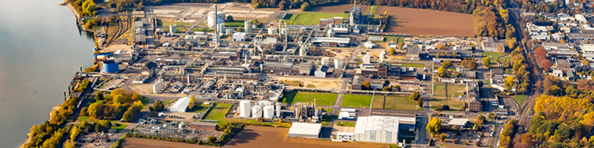 Luftbildaufnahme des Chemiestandort Lülsdorf, Quelle: Evonik