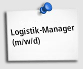 Stellenangebot Logistik Manager