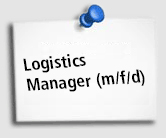 Stellenangebot Logistik Manager